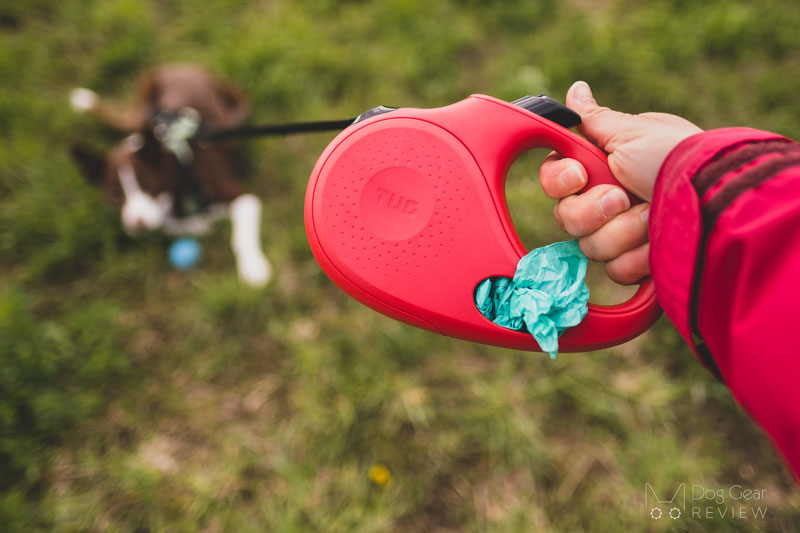 TUG Oval™ 360° Tangle-Free Retractable Leash Review | Dog Gear Review